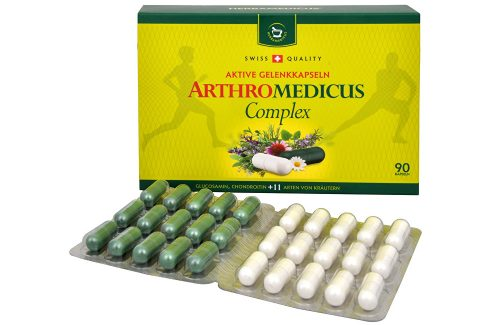 Herbamedicus Arthromedicus Complex 90 kapslí Doplňky stravy