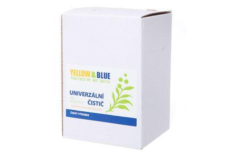 Yellow & Blue Univerzální čistič pro domácnost z mýdlových ořechů s přírodní pomerančovou silicí 5 l Univerzální čistící prostředky
