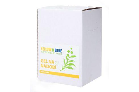 Yellow & Blue Gel na nádobí z mýdlových ořechů 5 l Ekologické mytí nádobí