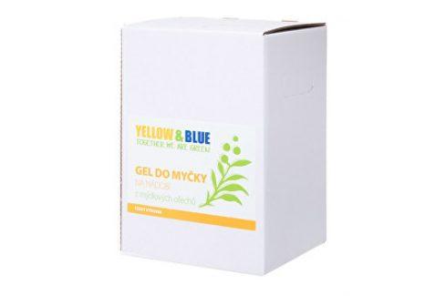 Yellow & Blue Gel do myčky na nádobí z mýdlových ořechů 5 l Ekologické mytí nádobí