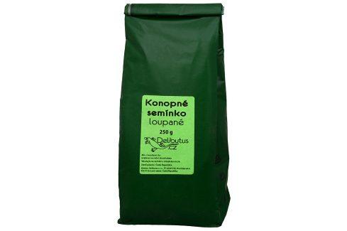 Delibutus Konopné semínko loupané 250 g Sušené plody, ořechy, semena