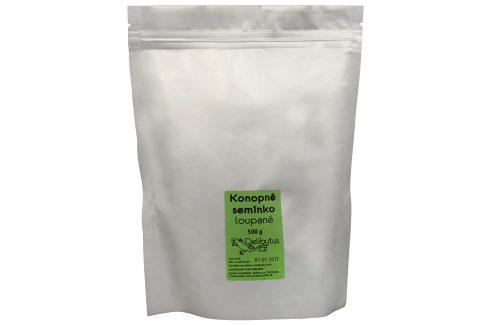Delibutus Konopné semínko loupané 500 g Sušené plody, ořechy, semena