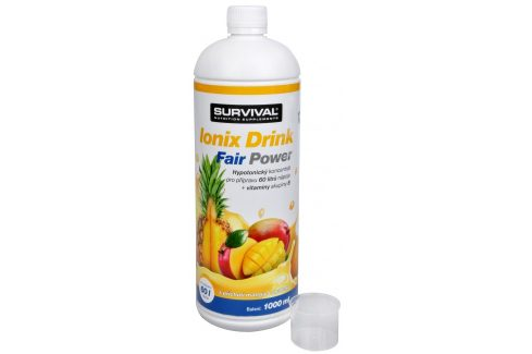 Survival Ionix Drink Fair Power 1000 ml Ananas-Mango Iontové nápoje
