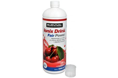Survival Ionix Drink Fair Power 1000 ml Višeň Iontové nápoje