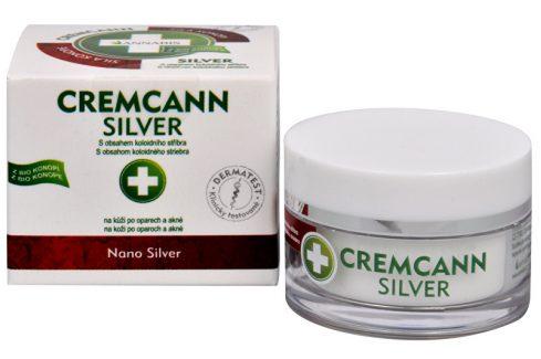 Annabis Cremcann Silver - konopný krém na kůži na opary a akné přírodní 15 ml Přípravky na problematickou pleť