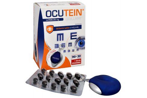 Simply You Ocutein Brillant Lutein 25 mg 90 tob. + 30 tob. ZDARMA + ubrousek na brýle ZDARMA Vitamíny a minerály