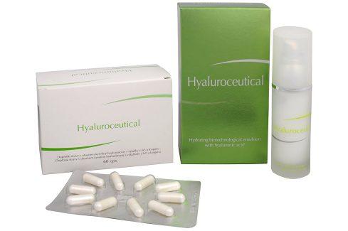 Herb Pharma Hyaluroceutical - hydratační biotechnologická emulze 30 ml + Hyaluroceutical 60 kapslí ZDARMA Pleťová séra a emulze