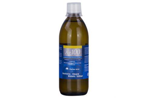 Natural Pharm Koloidní stříbro Ag100 10ppm 500 ml Doplňky stravy