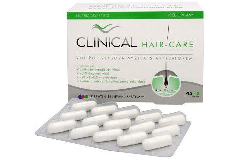 Clinical Clinical Hair-care 45 tob. + 15 tob. ZDARMA Vitamíny a minerály