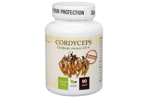Natural Medicaments Cordyceps Premium 90 kapslí Doplňky stravy