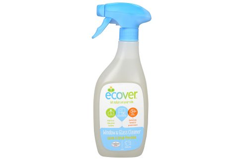 Ecover Čistič na okna a skleněné povrchy 500 ml Ekologické čistící prostředky