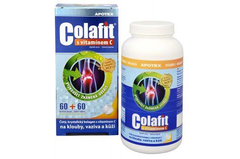 Apotex Colafit (čistý kolagen) s vitamínem C 60 kostiček + 60 tbl. Doplňky stravy
