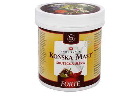 Herbamedicus Koňská mast Forte hřejivá 250 ml Masážní přípravky