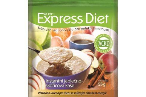 Good Nature Express Diet - instantní kaše Jablko-skořice Instantní jídla