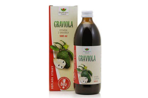 EkoMedica Czech Graviola - výtažek z gravioly 500 ml Šťávy