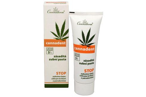 Zásaditá zubní pasta Cannadent 75 g Zubní pasty
