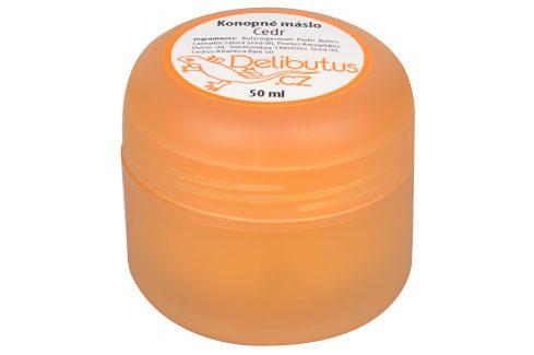 Delibutus Konopné máslo Cedr 50 ml Pleťové krémy