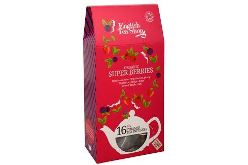 English Tea Shop Super ovocný čaj Rooibos a červené ovoce 16 pyramidek Čaje