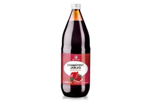 Allnature Granátové jablko Premium - 100% šťáva 1000 ml Šťávy