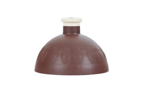 R&B Zdravá lahev víčko/zátka hnědé/zátka béžová Košíky a lahve