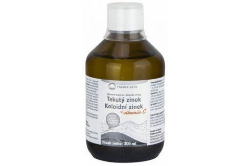 Pharma Activ Koloidní zinek + vitamín C liquid 300 ml Vitamíny a minerály