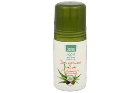Finclub Aloe Vera roll-on 50 ml Deodoranty a antiperspiranty
