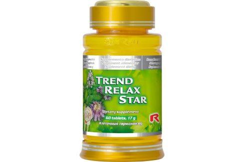 STARLIFE TREND RELAX STAR 60 tbl. Doplňky stravy