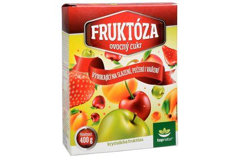 Topnatur Ovocný cukr - fruktóza 400 g Zdravá výživa