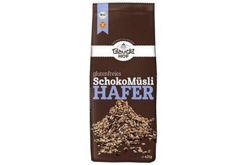 Bauck hof Bio Musli ovesné čokoládové bezlepkové 425g Zdravá výživa