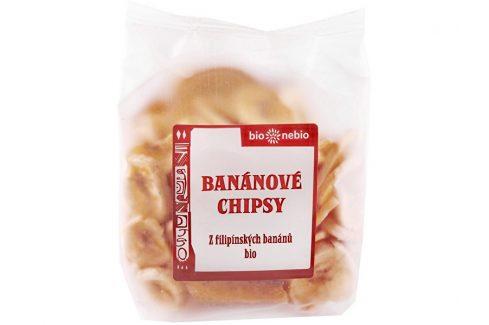 Bio nebio s. r. o. Bio Banánové chipsy 150g Sušené plody, ořechy, semena