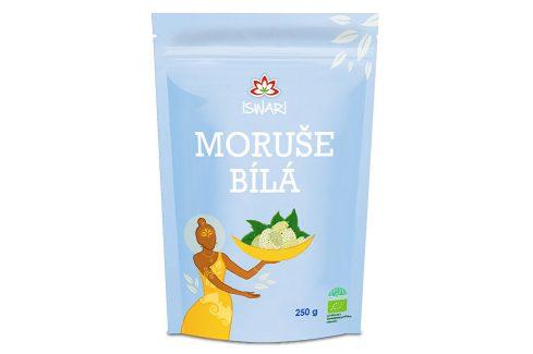 Iswari BIO Moruše bílá sušená 250 g Zdravá výživa