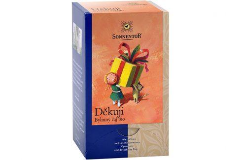 Sonnentor Bio Děkuji - bylinný čaj 27g dvoukomorový (18sáčků) Potraviny a doplňky stravy
