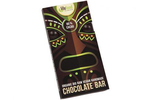 Lifefood Bio Lifefood Chocolate 80% Cacao 70g Čokolády