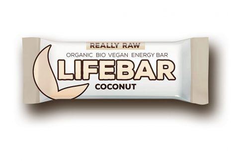 Lifefood Bio tyčinka Lifebar kokosová 47g Müsli tyčinky