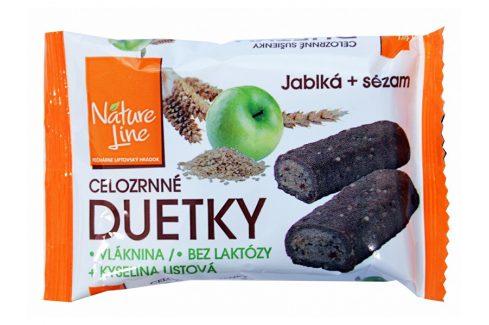 Nature Line Duetka sušenky celozrnné 50g Sušenky a piškoty