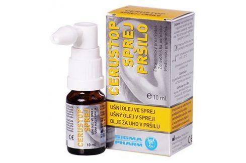 Agency MM Health Cerustop ušní olej ve spreji 10 ml Ušní spreje a kapky