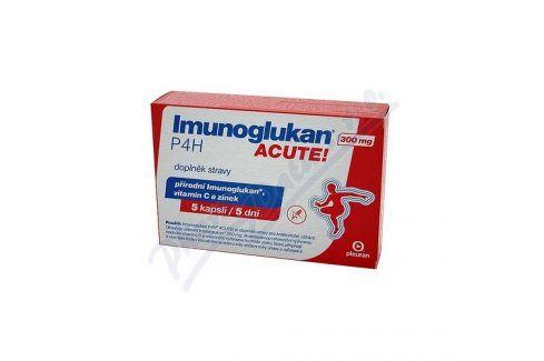 PLEURAN S.R.O. BRATISLAVA Imunoglukan P4H ACUTE! 5 kapslí Doplňky stravy