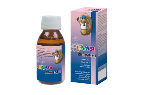 Joalis Joalis Bambi Bronchi 100 ml Doplňky stravy