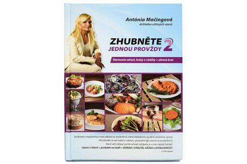 Knihy Zhubněte jednou provždy 2 (Mgr. Antónia Mačingová) Knihy o zdraví