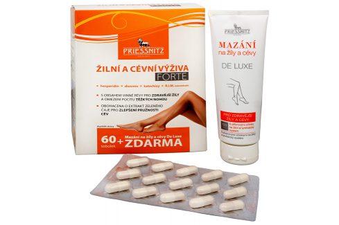Simply You Priessnitz Žilní a cévní výživa Forte 60 tob. + Mazání na žíly a cévy De Luxe 125 ml ZDARMA Doplňky stravy