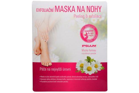 IPSUUM Exfoliační maska na nohy 1 pár Přípravky pro péči o nohy
