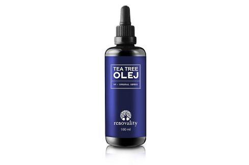 Renovality Tea Tree olej 100 ml Pleťové oleje